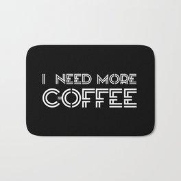 Coffee I Bath Mat