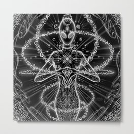 Hyper Persistent Soul Wisdom Metal Print