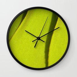 Vegetal lines Wall Clock