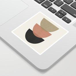 Minimal Abstract Art 22 Sticker