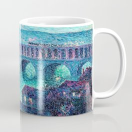 Classical Masterpiece: The Auteuil Viaduct by Maximilian Luce Coffee Mug
