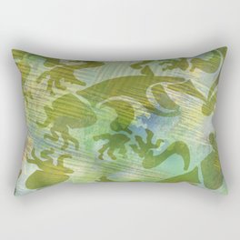 Cave Art 2 Rectangular Pillow