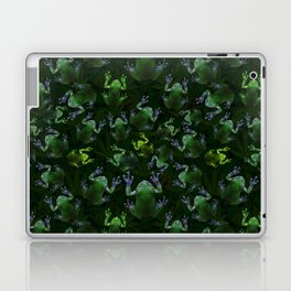 Frogs On Weed Laptop & iPad Skin