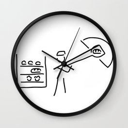 baker's craft Wall Clock