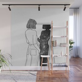 The reflection of your soul. Wall Mural