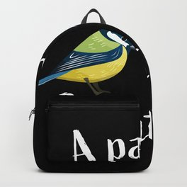 A pair of great tits - Funny bird gift Backpack