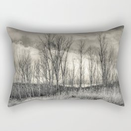The long winter Rectangular Pillow