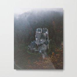 Tiny Moody Valley Metal Print