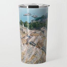 Sugarloaf from Above Travel Mug