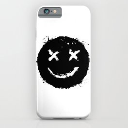 Confused Smile iPhone Case