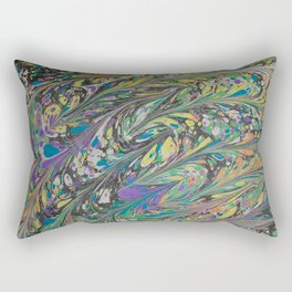 Marble Print #11 Rectangular Pillow