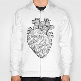 Heart Anatomy organ-mandala Hoody