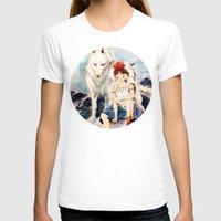 princess mononoke T-shirts featuring Princess Mononoke by Tiffany Willis