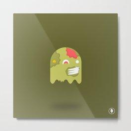 Zom-Boo Metal Print