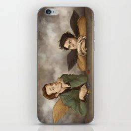 Gabriel & Castiel iPhone Skin