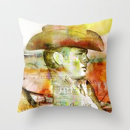 The journey of James D. Throw Pillow
