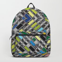 Hong Kong Kaleidoscope 01 Backpack