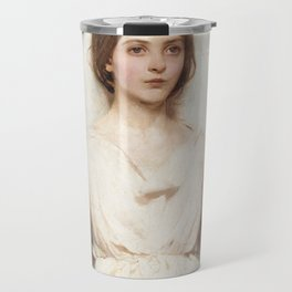Angel, 1887 by Abbott Handerson Thayer Travel Mug
