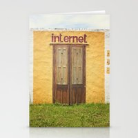 internet Stationery Cards featuring Internet by Nina's clicks