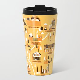 Survivors Map Travel Mug