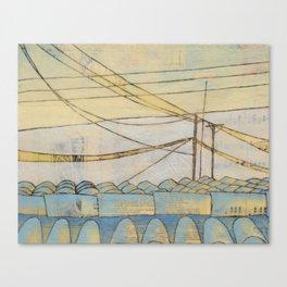 fragile & so strong Canvas Print