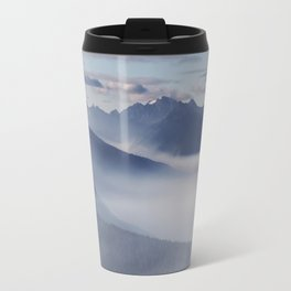 Olympic National Park from the Hurricane Ridge. Travel Mug