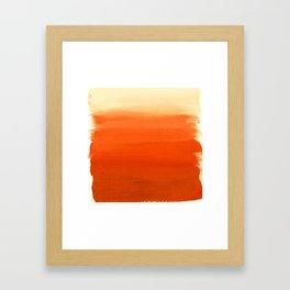 Oranges No. 1 Framed Art Print
