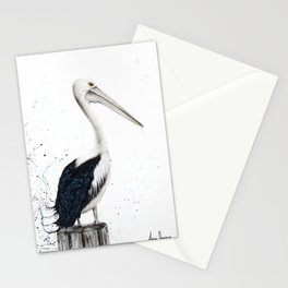 Beach Pelican Stationery Cards
