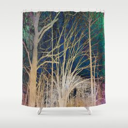 Lost in Your Limits Shower Curtain