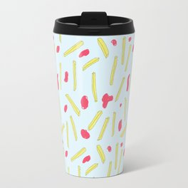 Cheerful Fries Travel Mug