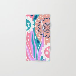 Lollipop flowers Hand & Bath Towel