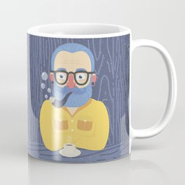 Blue Beard Coffee Mug