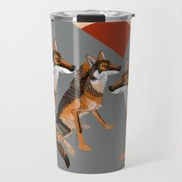 Totem Iberian wolf Travel Mug