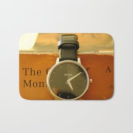 Time is on your side Bath Mat
