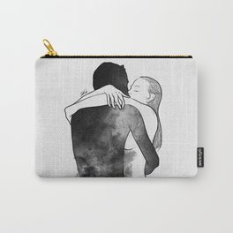 I am the luckiest to have you. Carry-All Pouch