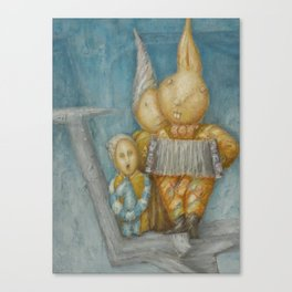 ''Humpty bumpty'' Canvas Print