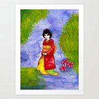 japan Art Prints featuring Japan by Juliana Peters Upstate NewYork