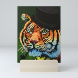 The Tiger Baron Mini Art Print