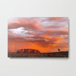 Uluru's Finest Metal Print