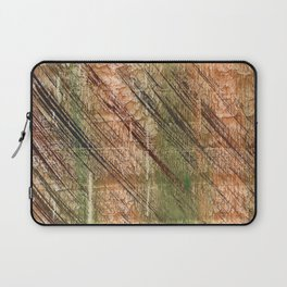 Abstract striped painting Laptop Sleeve