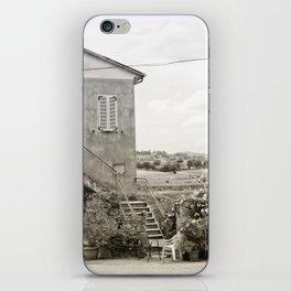 Living in the Italian countryside iPhone Skin