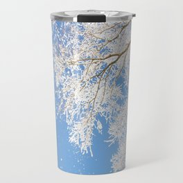 Snowfall Travel Mug