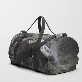 The enchanted fallen tree Duffle Bag