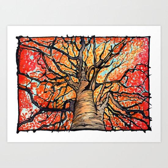 Fall Flush Art Print