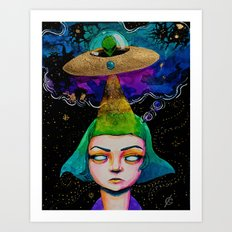 Thought Invaders Art Print