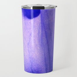 Macro Ultra Violet Iris Travel Mug