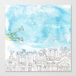Volant Canvas Print