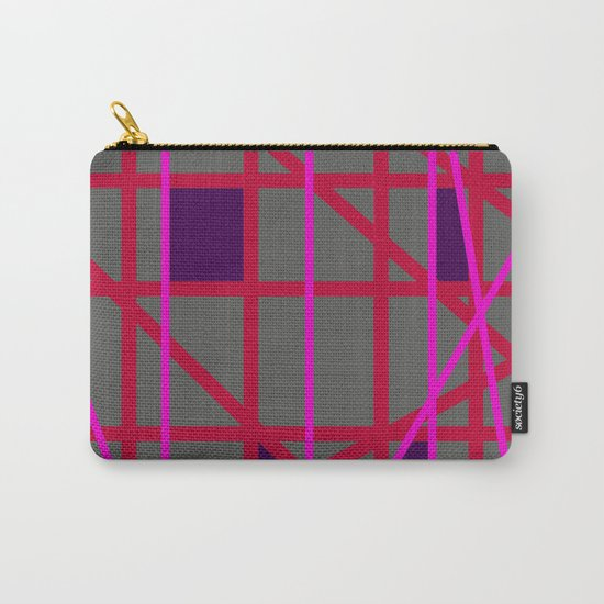 Abstract RF Carry-All Pouch