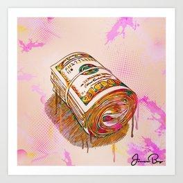 bankroll Art Print