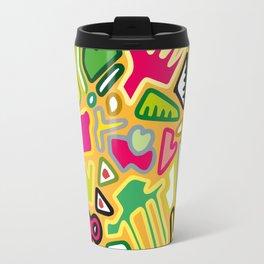 color doodle Travel Mug